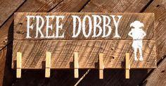 Free Dobby Single Socks Hanging Pallet Sign by SnappleJacks