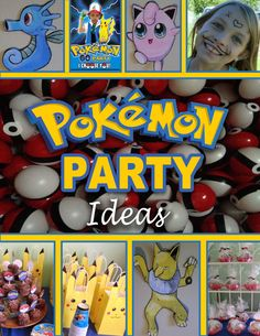 Pokémon party activity ideas and more!