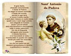 Maria Grazia, Madonna, San Antonio, The Cure, Saints, Prayers, Author, Mamma, Grande