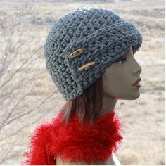 Check out this item in my Etsy shop https://www.etsy.com/listing/494246585/crochet-hat-womens-grey-hat-1920s