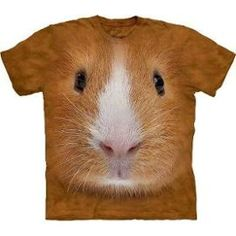 T-Shirt - Guinea Pig Face - Animal - The Mountain /Mt3444/