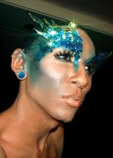 Fabulous drag makeup!