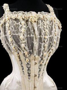 , 1900-1909, Bride, Corset, Clothing, Edwardian (1901-1910), Fashion