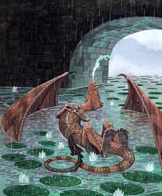 """A woman screamed. """"There's a dragon in the moat!"""" She cried, running into the throne room. She dropped to her knees before the queen and trembled.  Ashkelon rolled his eyes and walked over to the window. He opened the stained glass window and shouted, """"Enron! Get out of the water now! How many times do I have to tell you not to play in the river?! All of the river maidens are afraid of you!"""""""