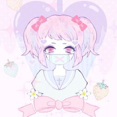 Aww yup love playing doc Kawaii Anime, Me Anime, Kawaii Art, Anime Art, Anime Girls, Art Goth, Pastel Goth Art, Pastel Decor, Gothic Kunst