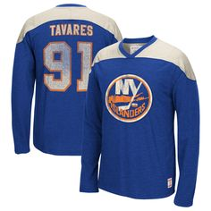 NHL John Tavares New York Islanders CCM Name   Number Long Sleeve T-Shirt - 7e1d56e44