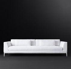 RH Modern's Italia Taper Arm Fabric Sofa