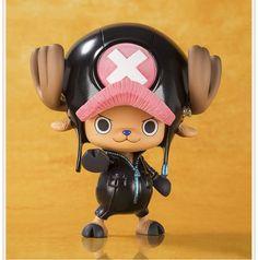 Japan Anime One Piece Op Pop Film Gold Ver. Tony Tony Chopper Cute Pvc Figure Ib