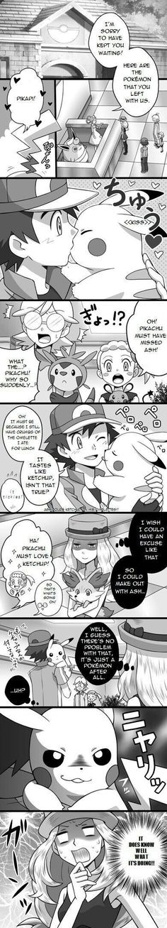 Pokemon in the Manga comic