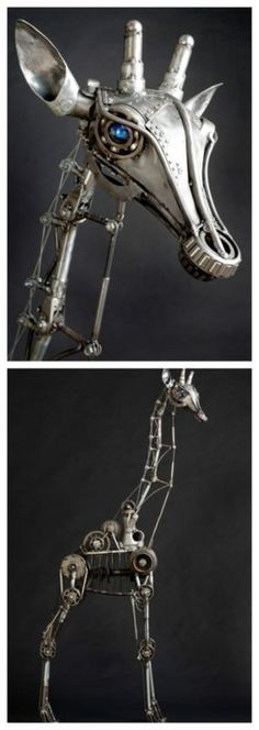 OMG! 20 Breathtaking Sculptures Made from Old Car Parts. You won't believe your eyes