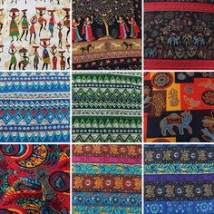 Ethnic Cotton Linen Fabric Patchwork DIY Sewing Crafts Home Decor 57 Linen Fabric, Cotton Linen, Cotton Fabric, Color Shades, Printed Materials, Home Crafts, Sewing Crafts, Ethnic, Scrappy Quilts