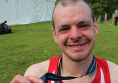 Despite being less than halfway through his six marathon challenge, Ben Ashcroft, has smashed the half-way point of his fundraising target.