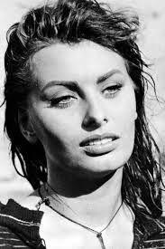 actrice italienne     sophia loren (20 septembre I934 à rome) italian actress portrait black and white