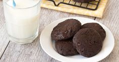 Who says you can't eat cookies and be healthy at the same time? Not us. We're trying out some new tricks, like putting avocado into chocolatey cookies -- check 'em out!