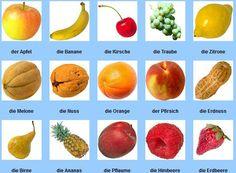 Ramis Deutsch A: Obst und Gemüse