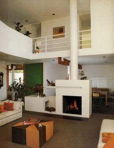 Architects Batter/Kay FIREPLACES | Sunset Books ©1985