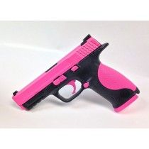 Hogue Pink S&W M&P .40SW w/Thumb Safety