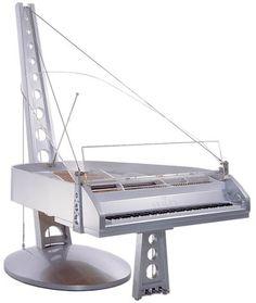 Suspension Grand Piano. Maker: Seiler. Kitzingen, Germany.