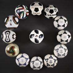 Los Balones de Adidas en los Mundiales