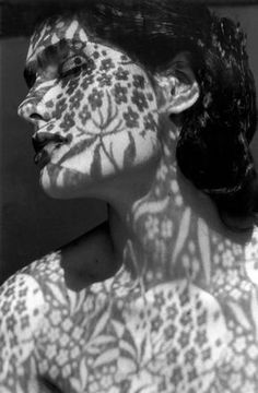 24 Light and Shadow Photography for Inspiration - vintagetopia - black and white portrait photography with floral shadow pattern - Creative Photography, Photography Poses, Photography Flowers, Fashion Photography, Inspiring Photography, Pattern Photography, Photography Accessories, Photography Projects, Photography Of People