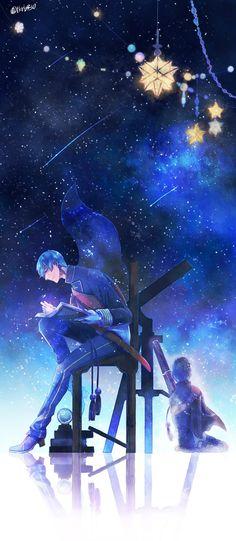 Touken Ranbu 埋め込み画像への固定リンク A sky full of stars. Touken Ranbu Characters, Anime Characters, Manga Art, Anime Art, Anime Galaxy, Sky Full, Amazing Drawings, Anime Life, Boy Art