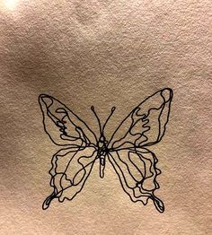butterfly tattoo meaning . butterfly tattoo behind ear . butterfly tattoo on shoulder Dainty Tattoos, Mini Tattoos, Cute Tattoos, Small Tattoos, Tattoos For Guys, Tatoos, Pretty Tattoos, Delicate Feminine Tattoos, Dream Tattoos