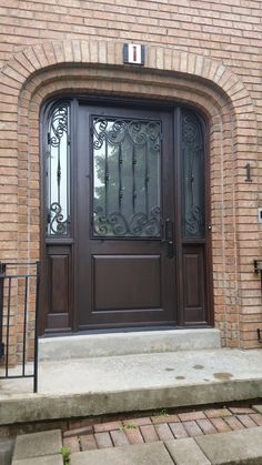 32 Best Wrought Iron Doors Images In 2017 Wrought Iron