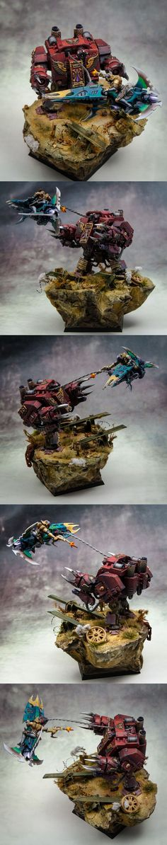 40k - Dreadnought vs Dark Eldar