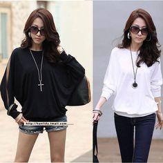 2014 neue mode frauen sexy spitzen lange t-shirts lose o- hals blusen s M L XL kostenlos versand