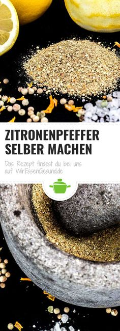Zitronenpfeffer selber machen – WirEssenGesund Recipe for homemade lemon pepper. Making a lemon pepper yourself is quick and simply delicious. Food Gift Baskets, Diy Food Gifts, Diy Snacks, Food Truck Design, Christmas Food Gifts, Food Trailer, Lemon Pepper, Stuffed Peppers, Recipes