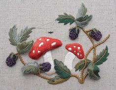 Wonderful Ribbon Embroidery Flowers by Hand Ideas. Enchanting Ribbon Embroidery Flowers by Hand Ideas. Types Of Embroidery, Silk Ribbon Embroidery, Crewel Embroidery, Floral Embroidery, Embroidery Patterns, Creative Embroidery, Embroidery Techniques, Sewing Crafts, Needlework