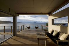 Seal Rocks House by Bourne Blue Architecture.