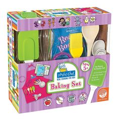 MindWare Playful Chef Baking Set,