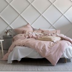 Buy the beautifully designed Pure Linen Rose Bed Linen Set, by The French Bedroom Company. Shop 24 hours a day for Effortless Luxury Online. French Furniture, Table Furniture, Kids Furniture, Retro Furniture, Farmhouse Furniture, Furniture Outlet, Furniture Stores, Discount Furniture, Silk Bedding