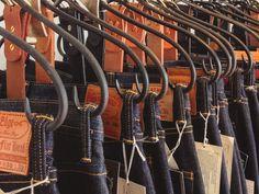 Perchas de jeans