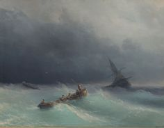 Burya na more - Category:Paintings of ships in distress - Wikimedia Commons