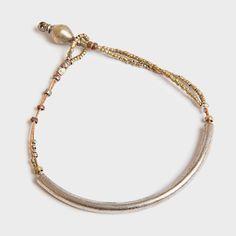 Elsabet Single Tube Bracelet by Raven + Lily
