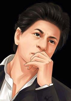 Superb work Shah Rukh Khan Movies, Shahrukh Khan, Heart In Nature, Sr K, Cool Sketches, Bollywood Actors, Cartoon Wallpaper, Superstar, Cute Pictures