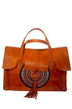 Wildeve Embroidery Leather Tote Morocco, Shoulder Bag, Embroidery, Leather, Bags, Shoes, Fashion, Accessories, Handbags