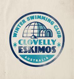 Logo design for Winter swimming group