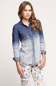 Novelty Chambray Shirt