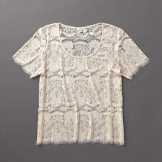 I just bought this vintage-inspired top.