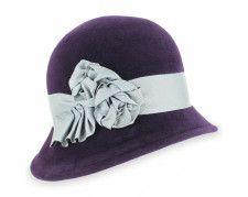Belfry Tessa - Asymmetrical Fur Felt Cloche Hat