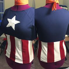 And here we are captain America done as a female cut! And here we are captain America done as a female cut! Comic Con Costumes, T Shirt Costumes, Diy Halloween Costumes, Cosplay Costumes, Costume Ideas, Cosplay Ideas, Captain America Cosplay, Female Captain America Costume, Captain Underpants Costume