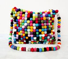 SALEHandmade CUTE Eco Friendly Felted Bag by loovee on Etsy, $55.00