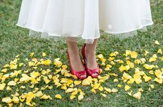 Backyard Wizard of Oz Wedding Ideas with dresses from Vellos Bridal photographed by Sevenish Photography Red Wedding, Wedding Bells, Movie Wedding, Lion King Wedding, Wedding Slippers, Wedding Themes, Wedding Ideas, Wizard Of Oz, Bridal Portraits