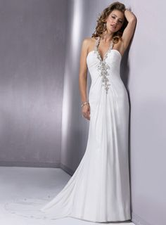 That would be pretty to wear to the reception!