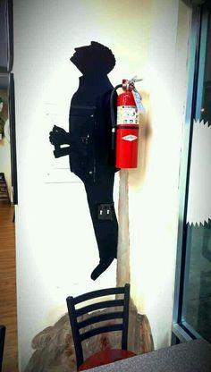 007 fire extinguisher.