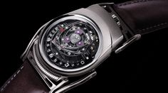 Watch designer Eric Giroud has contributed his creativity and skill to a number of well known luxury watch companies. You can find examples of his designs Mens Designer Watches, Swarovski, Gifts For Teen Boys, Skeleton Watches, Geek Gifts, Boy Gifts, Sneakers Fashion, Smart Watch, Watches For Men