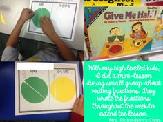 Fraction examples and non examples Teaching Fractions, Math Fractions, Teaching Math, Dividing Fractions, Equivalent Fractions, Multiplication, Maths, Guided Reading Lessons, Guided Reading Levels